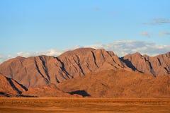 Sossusvlei, Namib Naukluft National Park, Namibia. Beautiful namibian landscape at sunset, Sossusvlei, Namib Naukluft National Park, Namibia royalty free stock photography