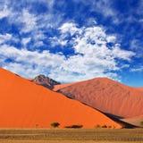 Sossusvlei Namib Naukluft nationalpark, Namibia Royaltyfri Bild