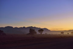 Sossusvlei, Namib Naukluft park narodowy, Namibia Obrazy Stock