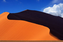 Sossusvlei, Namib Naukluft park narodowy, Namibia Zdjęcie Royalty Free