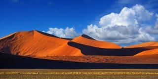 Sossusvlei, Namib Naukluft park narodowy, Namibia Zdjęcie Stock
