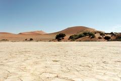 Sossusvlei, Namibië Stock Afbeeldingen