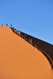 SOSSUSVLEI, NAMIBIË, DUIN 45 Royalty-vrije Stock Afbeelding