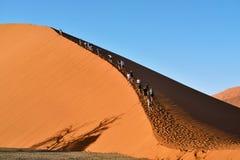 SOSSUSVLEI, NAMIBIË, DUIN 45 Stock Foto
