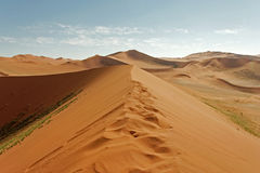 Sossusvlei, Namibia. Huge sand dunes of Sossusvlei, picture taken in Namibia stock photography