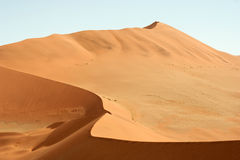 Sossusvlei, Namibia. Huge sand dunes of Sossusvlei, picture taken in Namibia royalty free stock images