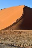 SOSSUSVLEI, NAMIBIA, DUNA 45 Foto de archivo libre de regalías