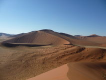 Sossusvlei Namibia Dune45. The view near sossusvlei / Dune 45 Namibia Stock Photo