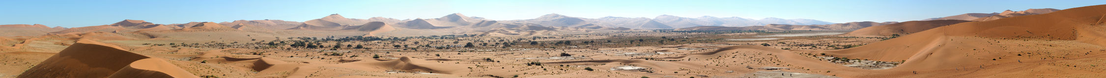 Sossusvlei panorama 1 Royalty Free Stock Photos