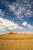 Sossusvlei park, Namibia. The red sand dunes  of Sossusvlei park, Namibia Stock Photography