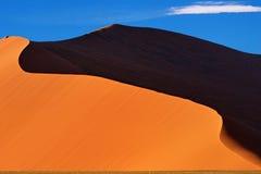 Sossusvlei, parque nacional de Namib Naukluft, Namíbia Imagem de Stock Royalty Free