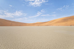 Sossusvlei. A photo of Sossuslvlei, a tourist place in Namibian desert stock image