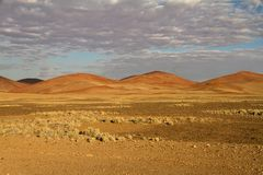 Sossusvlei pustynia, Namibia Obrazy Royalty Free