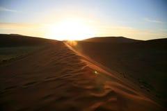 Sossusvlei sand dunes Royalty Free Stock Photos