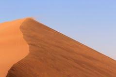 Sossusvlei sand dunes landscape in Nanib desert. Sossusvlei sand dunes landscape in the Nanib desert near Sesriem, Namibia Stock Photos