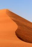 Sossusvlei sand dunes landscape in Nanib desert Royalty Free Stock Image