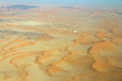 Sossusvlei: Sanddyn Royaltyfri Bild