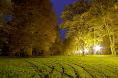 Sosta alla notte Fotografia Stock Libera da Diritti