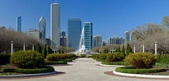 Sosta del Chicago Grant Fotografie Stock Libere da Diritti