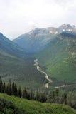 Sosta del ghiacciaio del Montana Fotografia Stock Libera da Diritti