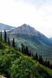 Sosta del ghiacciaio del Montana immagini stock libere da diritti