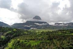 Sosta del ghiacciaio del Montana Fotografia Stock