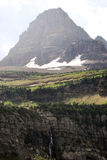 Sosta del ghiacciaio del Montana Immagini Stock