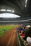 Sosta del Miller - Milwaukee Brewers fotografia stock