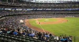 Sosta del Miller, Milwaukee Brewers, Outfield di baseball Fotografia Stock