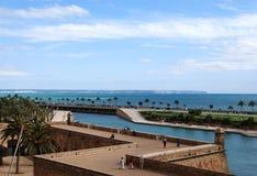 Sosta del Palma de Majorca Fotografie Stock Libere da Diritti