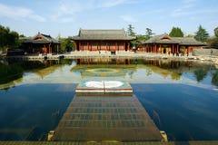 Sosta del raggruppamento di Huaqing immagini stock