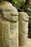 Sosta del San Agustin Archaelogical - Colombia fotografia stock libera da diritti