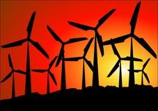 Sosta del vento Fotografia Stock Libera da Diritti