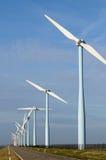 Sosta del vento Fotografia Stock
