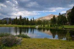 Sosta del Yosemite Fotografie Stock