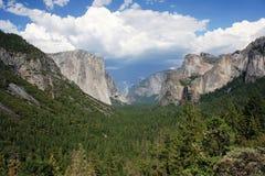 Sosta del Yosemite in estate Immagine Stock Libera da Diritti