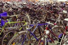 Sosta della bicicletta fotografia stock libera da diritti