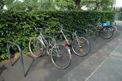 Sosta della bicicletta Immagine Stock Libera da Diritti