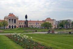 Sosta della città a Zagabria Immagine Stock Libera da Diritti