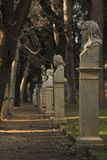 Sosta della scultura a Roma fotografia stock libera da diritti