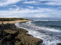 Sosta della spiaggia di Hookipa Immagini Stock