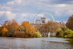 Sosta della st James a Londra Fotografie Stock Libere da Diritti