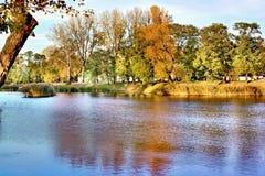 Sosta di autunno Fotografie Stock