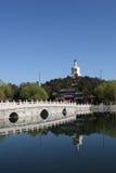 Sosta di beihai del â della porcellana di Pechino Fotografia Stock Libera da Diritti