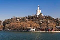 Sosta di Beihai, Pechino, Cina Fotografia Stock