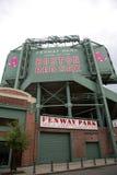 Sosta di Boston Fenway immagini stock libere da diritti