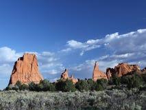 Sosta di condizione del bacino di Kodachrome, Utah Fotografie Stock Libere da Diritti