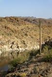 Sosta di condizione del lago Alamo in Arizona Fotografia Stock Libera da Diritti