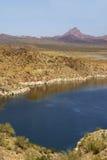 Sosta di condizione del lago Alamo in Arizona Immagine Stock