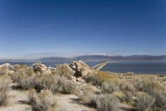 Sosta di condizione dell'isola dell'antilope nell'Utah fotografie stock
